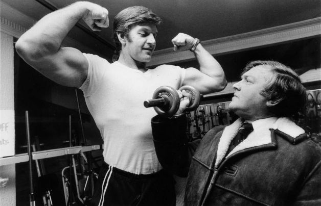 David Prowse Bodybuilder