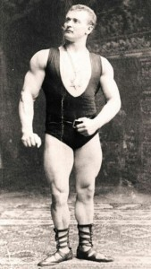 Eugen Sandow with Medallion