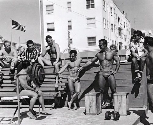 muscle beach history